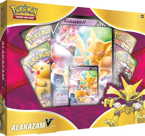 Pokemon - Alakazam V Box