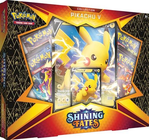 Pokemon Shining Fates - Pikachu V Box