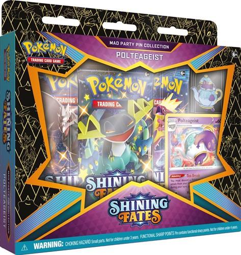 Pokemon Shining Fates - Mad Party Pin Polteageist
