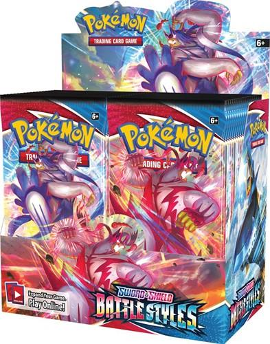 Pokemon - Sword & Shield Battle Styles Boosterbox