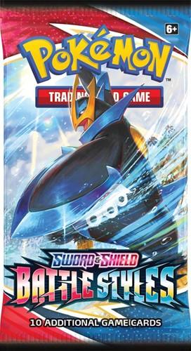 Pokemon - Sword & Shield Battle Styles Boosterpack
