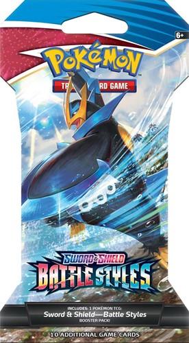 Pokemon - Sword & Shield Battle Styles Sleeved Booster