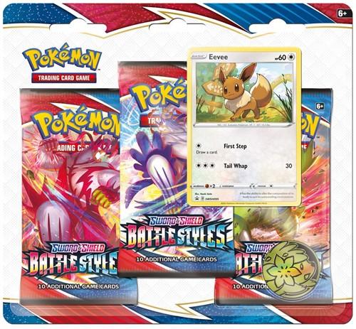 Pokemon - Sword & Shield Battle Styles Boosterblister