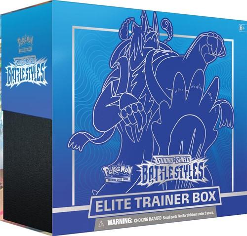 Pokemon - Sword & Shield Battle Styles Elite Trainer Blauw