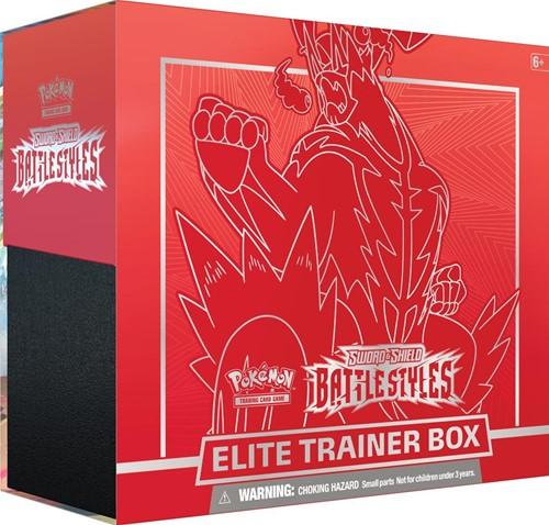 Pokemon - Sword & Shield Battle Styles Elite Trainer Rood