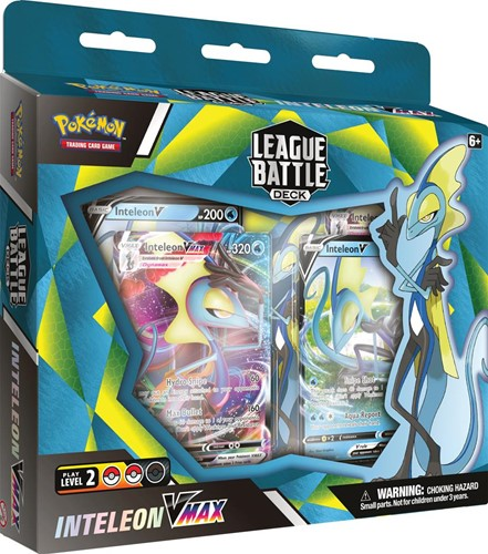 Pokemon - Inteleon VMAX League Battle Decks