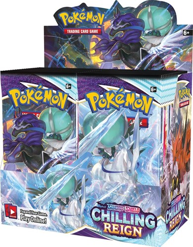 Pokemon - Sword & Shield Chilling Reign Boosterbox