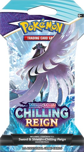 Pokemon - Sword & Shield Chilling Reign Sleeved Boosterpack