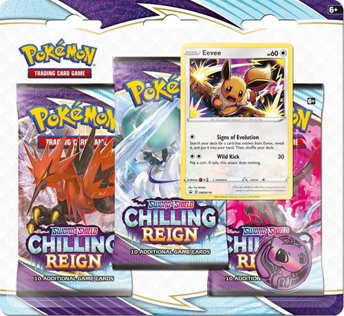 Pokemon - Sword & Shield Chilling Reign Boosterblister