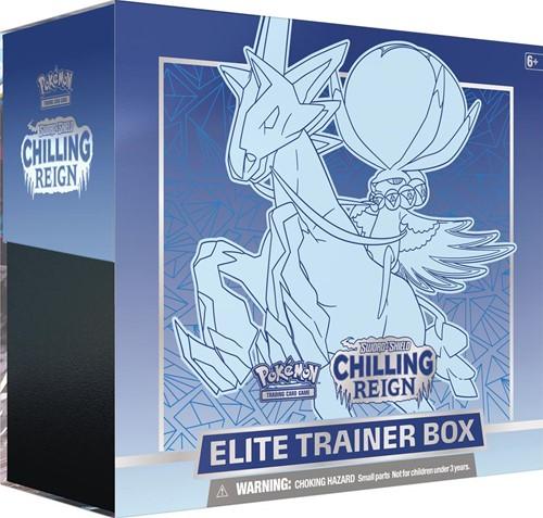 Pokemon - Sword & Shield Chilling Reign Elite Trainerbox Ice Rider Calyrex (Max. 1 per klant)