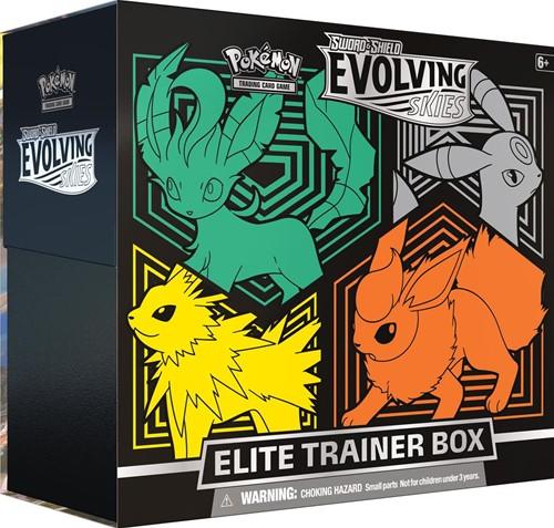 Pokemon - Sword & Shield Evolving Skies Elite Trainer Box
