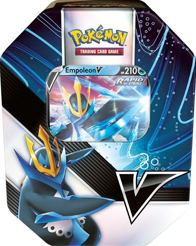 Pokemon Summer Tin - V Strikers Empoleon