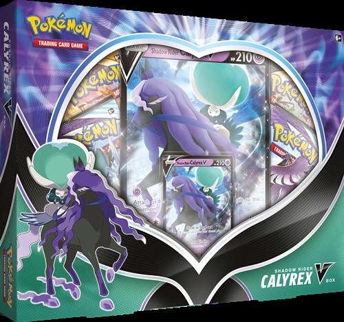 Pokemon - Shadow Rider Calyrex V Box