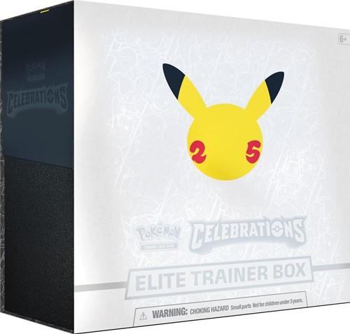 Pokemon - Celebrations Elite Trainer Box (Max. 1 per klant)