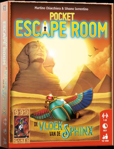 Pocket Escape Room - De Vloek van de Sphinx