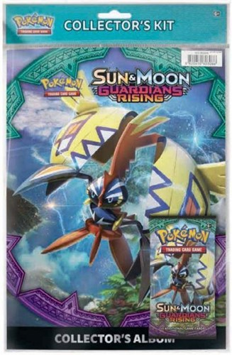 Pokemon Sun & Moon Guardians Rising - Collectors Kit