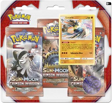 Pokemon Sun & Moon Crimson Invasion - Boosterblister