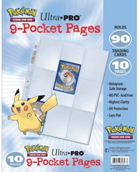 Pokemon - Hologram Pages 9-Pocket 3-rings (10 stuks)