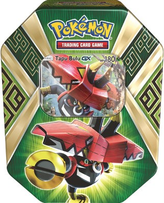 Pokemon Summer Tin 2017 - Island Guardians - Tapu Bulu-GX