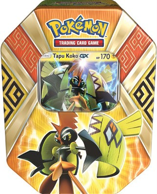 Pokemon Summer Tin 2017 - Island Guardians - Tapu Koko-GX