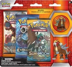 Pokemon - Collectors Pin 3 Pack - Legendary Beasts - Entei