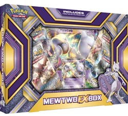 Pokemon Mewtwo-EX Box