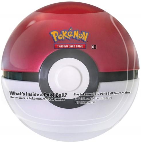 Pokemon Pokeball Tin 2019 Rood/Wit