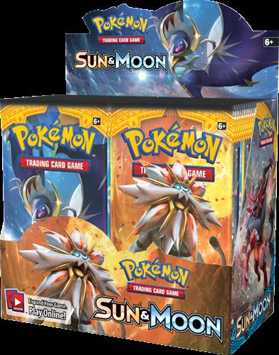 Pokemon Sun & Moon - Boosterbox-1