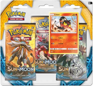 Pokemon Sun & Moon - Boosterblister-3