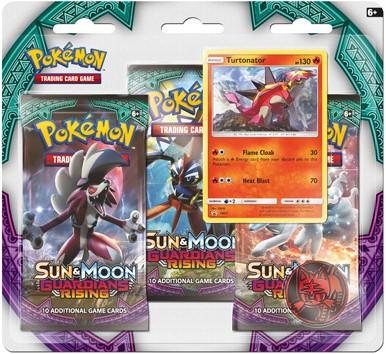 Pokemon Sun & Moon - Guardians Rising Boosterblister-1