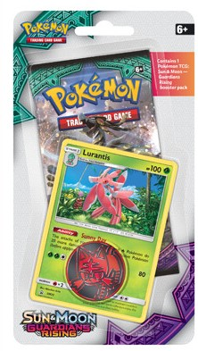 Pokemon Sun & Moon - Guardians Rising Checklane Blister-1