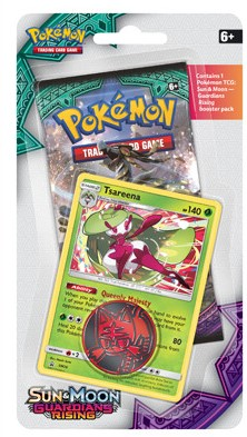 Pokemon Sun & Moon - Guardians Rising Checklane Blister-2