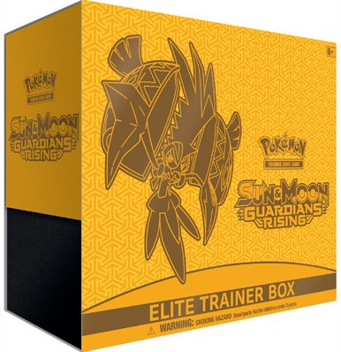 Pokemon Sun & Moon - Guardians Rising Elite Trainer Box