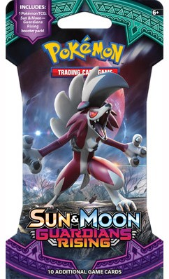 Pokemon Sun & Moon - Guardians Rising Sleeved Boosterpack-2