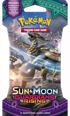 Pokemon Sun & Moon - Guardians Rising Sleeved Boosterpack-1