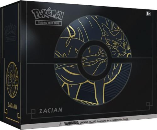 Pokemon Sword & Shield Elite Trainer Box Plus Zacian