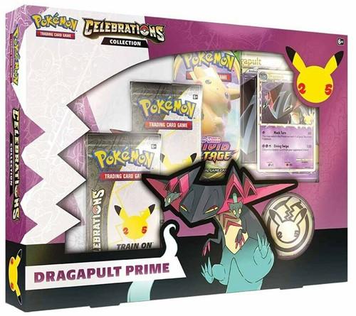 Pokemon - Celebrations Collector Box Dragapult Prime (Max. 1 per klant)