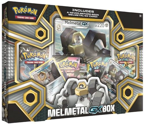 Pokemon - Melmetal GX Box