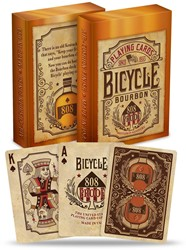 Bicycle Pokerkaarten - Bourbon Deck