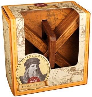 Great Minds - Da Vinci's Helicopter Puzzel