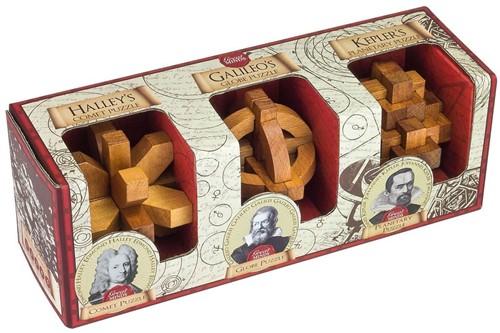 Great Minds -  Set of 3 (Halley, Galileo en Kepler)