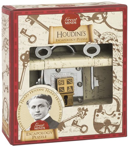 Great Minds - Houdini's Escapology Puzzel