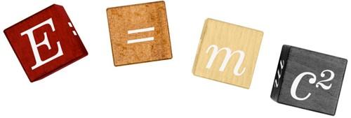 Einstein - E=Mc2 Puzzel Cubes