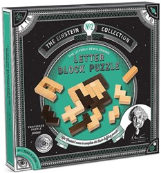 Einstein - Albert's Letter Blocks Puzzel