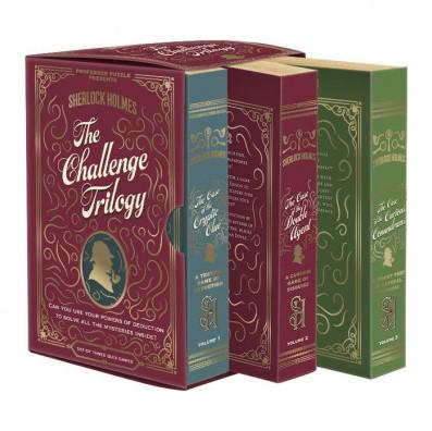 Sherlock Holmes - The Challenge Trilogy