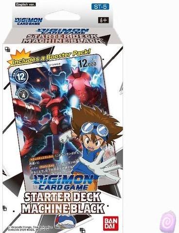 Digimon TCG S3 Starter Deck Machine Black