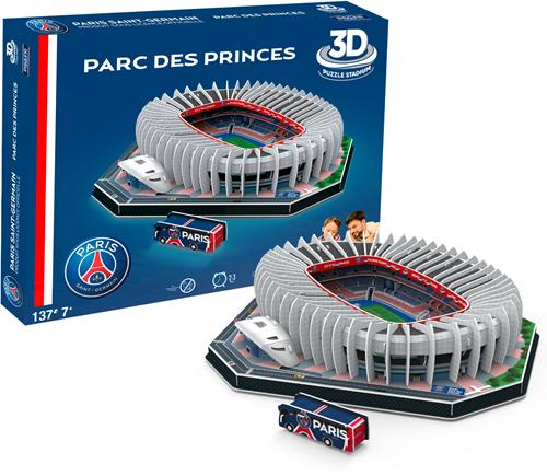 PSG - Parc Des Princes 3D Puzzel (137 stukjes)