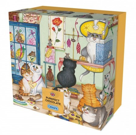 Purrfect Chocolate Puzzel - Gift Box (500 stukjes)