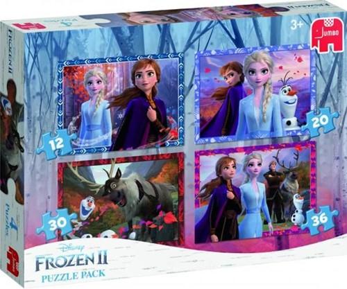 Frozen 2 – 4 in 1 Puzzel Pakket