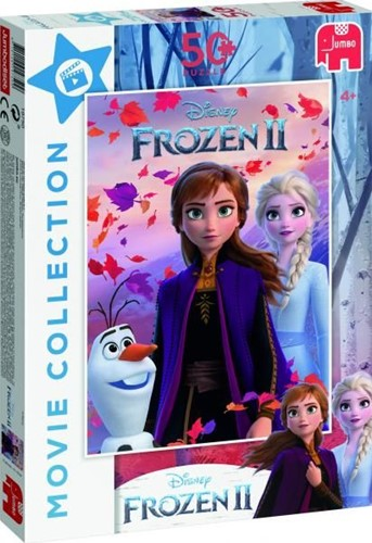 Frozen 2 - Film Collectie Puzzel (50 stukjes)